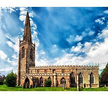 Higham Ferrers St Marys Church Photographic Print