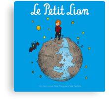 Le Petit Lion Canvas Print