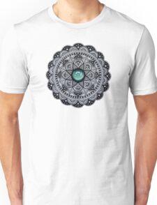 Green Marble Mandala  Unisex T-Shirt