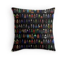 All Heroes Throw Pillow