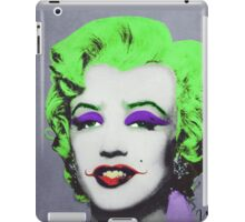 Joker Marilyn iPad Case/Skin