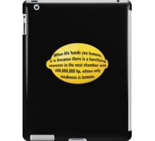 Lemon iPad Case/Skin