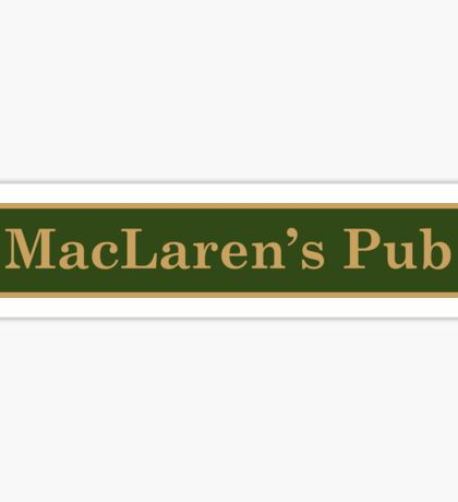 MacLaren's Pub Sticker