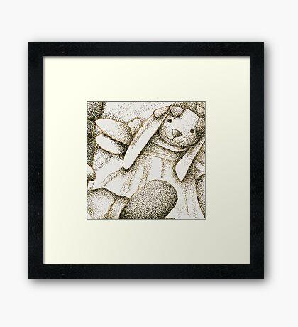 Stipple Still Life Framed Print