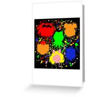 Muppet Splatter Greeting Card