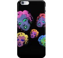 Vampire Marilyn 5b iPhone Case/Skin