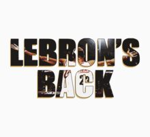 LeBron's Back by PresentDank