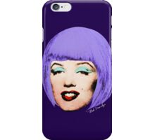 Bob Marilyn Monroe Variant 3 iPhone Case/Skin