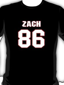 NFL Player Zach Miller eightysix 86 T-Shirt