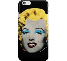 Vampire Marilyn iPhone Case/Skin