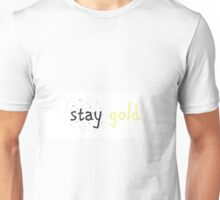 Stay Gold, Ponboy Unisex T-Shirt