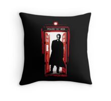 William the Bloody Doctor Throw Pillow