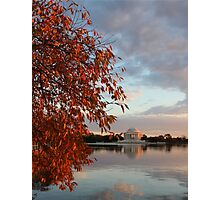 Jefferson Memorial Washington DC Photographic Print