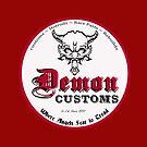 Demon Customs (White) by INFIDEL