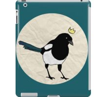 King Magpie [Tee] iPad Case/Skin