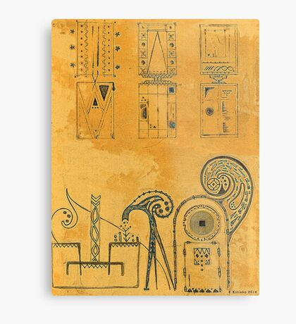Ancient Egypt Metal Print