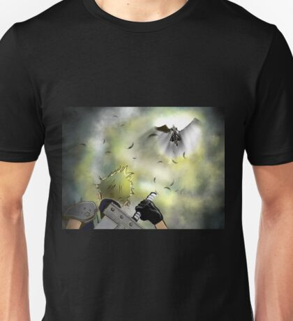 Duel of the Fates - FF7 Cloud & Sephiroth Unisex T-Shirt