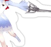 Weiss Schnee Sticker