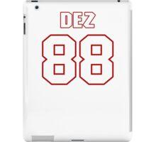 NFL Player Dez Bryant eightyeight 88 iPad Case/Skin