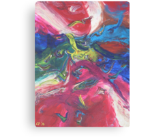 """""""Swooping"""" original abstract artwork by Laura Tozer Canvas Print"""