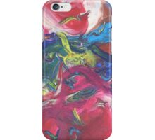 """Swooping"" original abstract artwork by Laura Tozer iPhone Case/Skin"