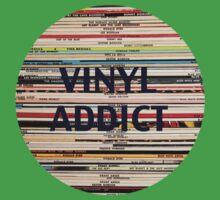 Vinyl Addict records Kids Tee