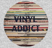 Vinyl Addict records Kids Tee