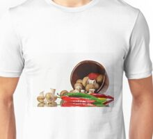 Peppers and Mushrooms Unisex T-Shirt