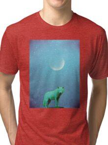 Lone Wölf Tri-blend T-Shirt