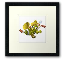 Glitch miscellaneousness special item that only beta testers get Framed Print