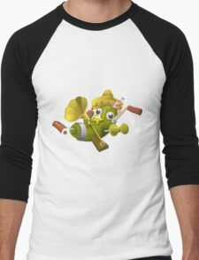 Glitch miscellaneousness special item that only beta testers get Men's Baseball ¾ T-Shirt