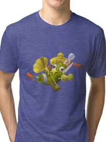 Glitch miscellaneousness special item that only beta testers get Tri-blend T-Shirt