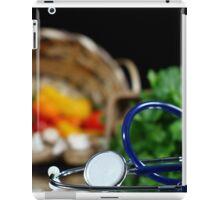 Health and wellness iPad Case/Skin