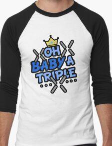 OH BABY A TRIPLE Men's Baseball ¾ T-Shirt
