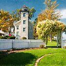 Sodus Bay Lighthouse by KathleenRinker