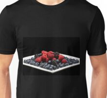 Berries on a plate Unisex T-Shirt