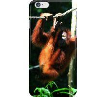 Monkeying around iPhone Case/Skin