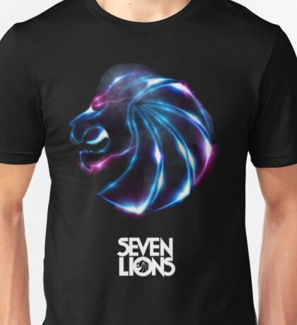 Seven Lions purple blue Unisex T-Shirt