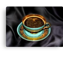 Grannies Cup and Coffee Canvas Print