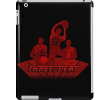 Bulls - Three-Peat iPad Case/Skin