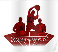 Bulls - Three-Peat Poster