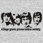 British Invasion - Village Green Preservation Society by kassette