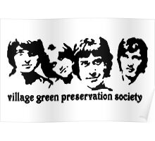British Invasion - Village Green Preservation Society Poster