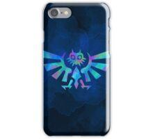 Majora's Crest Blue iPhone Case/Skin