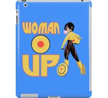 Woman Up!!!! iPad Case/Skin