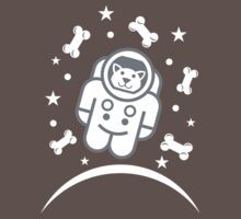 Dog in Space Astronaur Traveler Doggie Kids Clothes