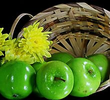 Green apples by Dipali S