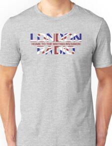 British Invasion - London Radio (Flag) Unisex T-Shirt