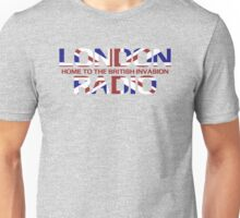 British Invasion - London Radio (Flag) Unisex T-Shirt