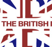 British Invasion - London Radio (Flag) Sticker